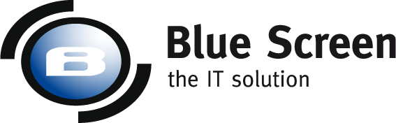 Logo Blue Screen | Digital business transformation
