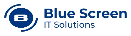 Logo Blue Screen   Digital business transformation