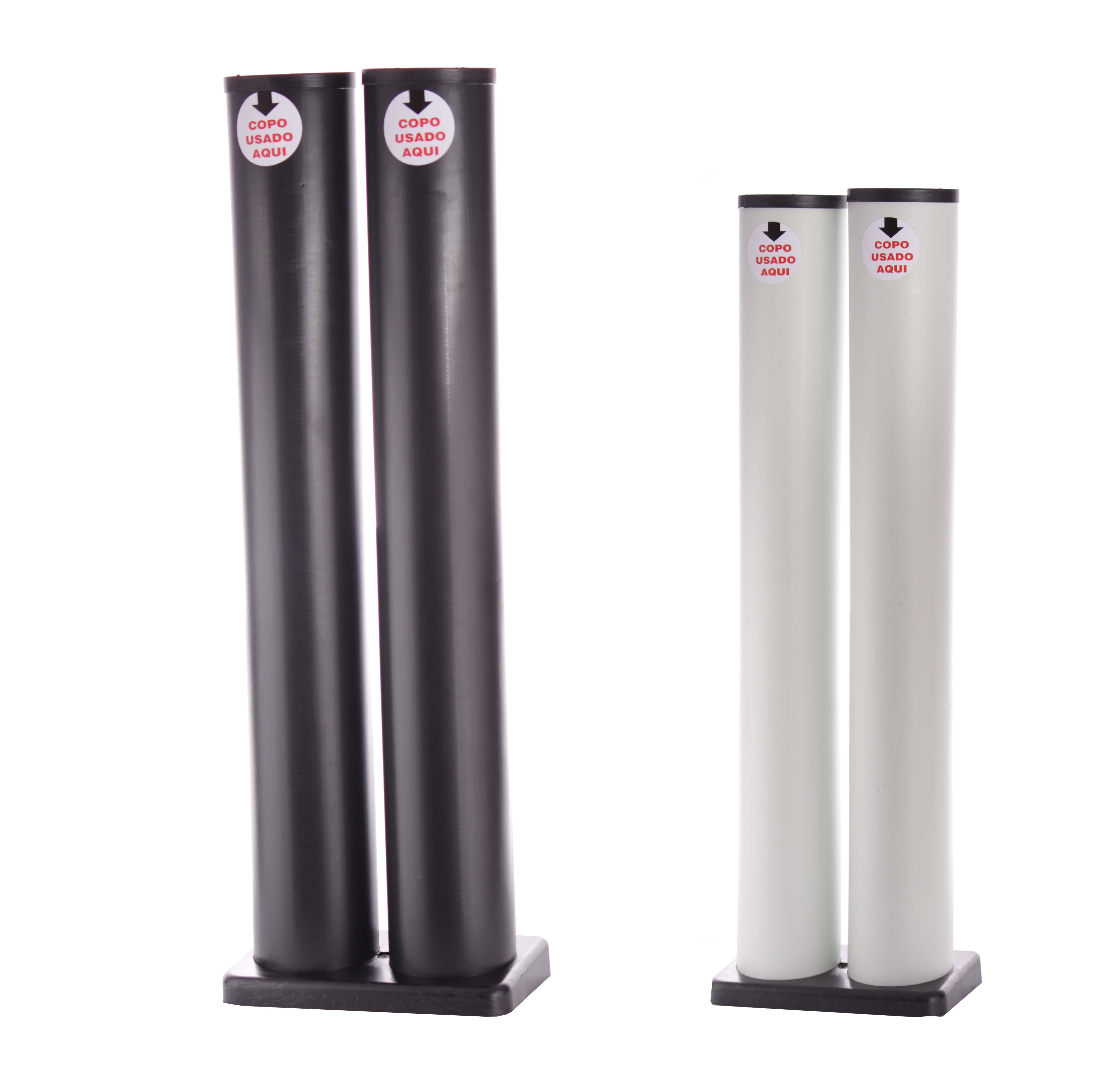 Descarte de Copos - água/água (2 tubos)