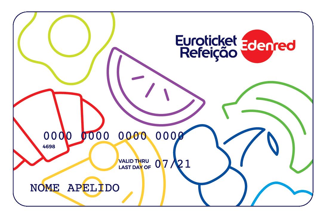 Cartão Euroticket Refeição