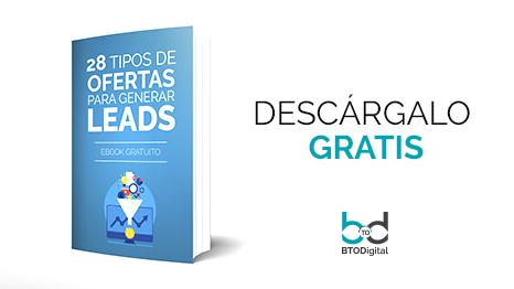 28 tipos de ofertas para generar leads