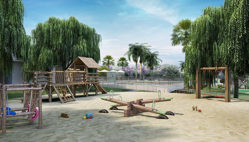 Village Damha 4 - Playground