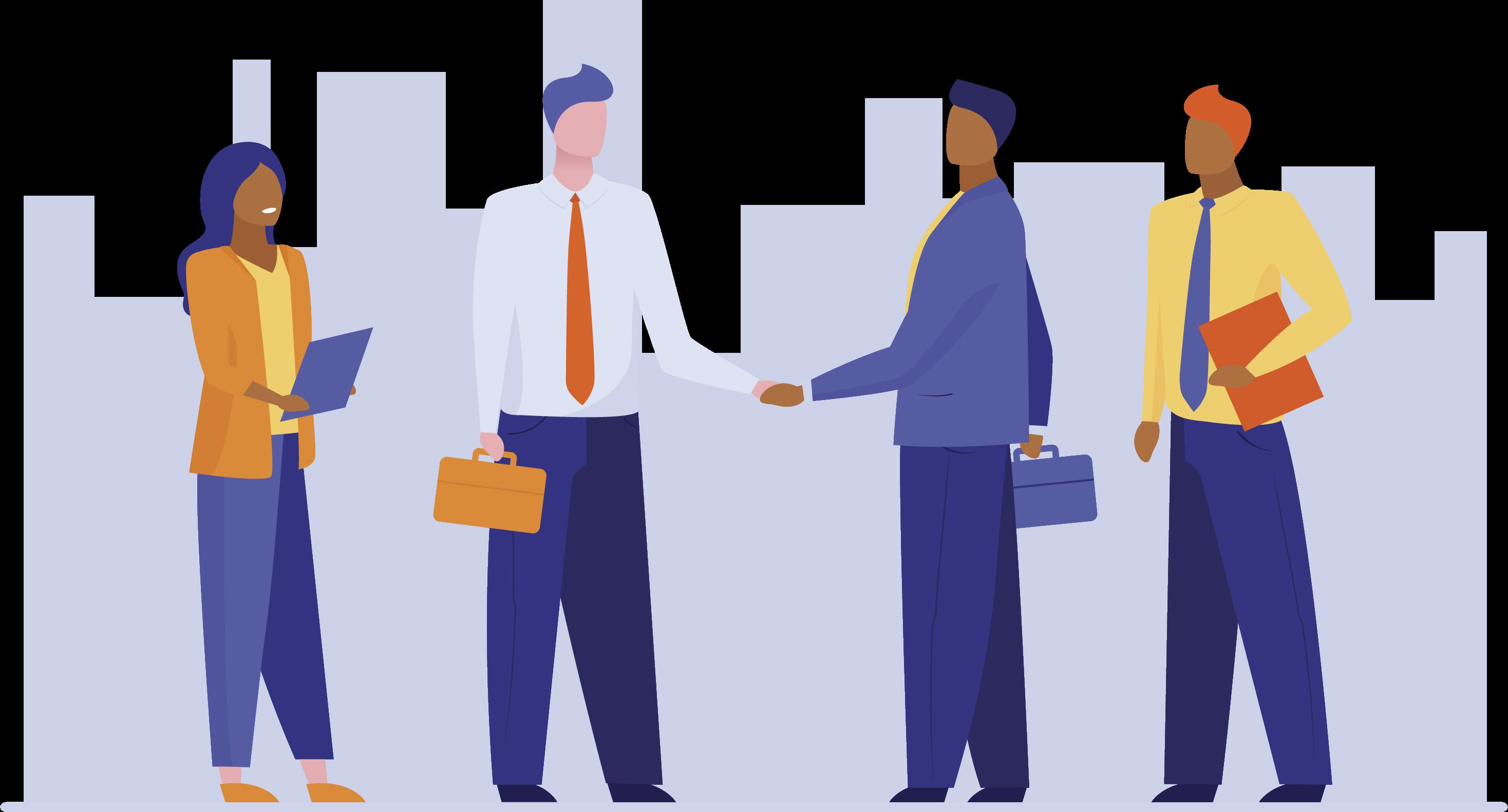 relacionamento com representante de venda