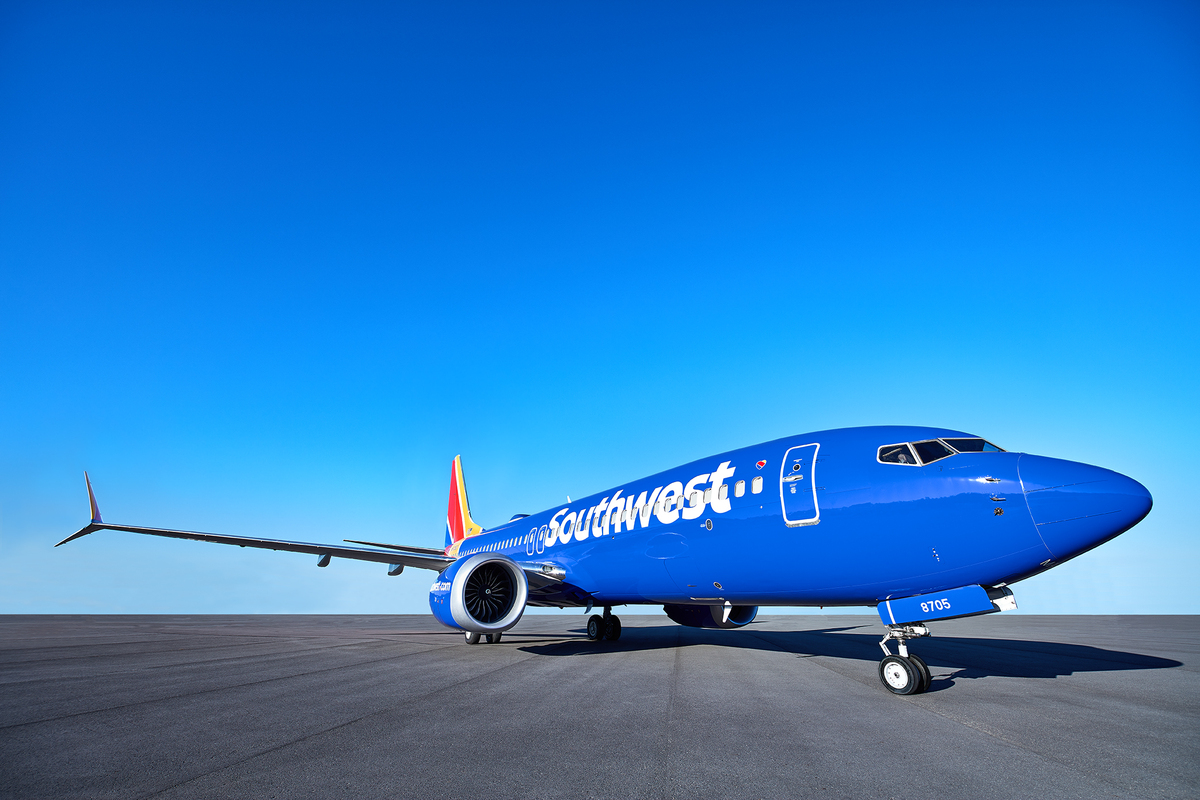 Avião Southwest