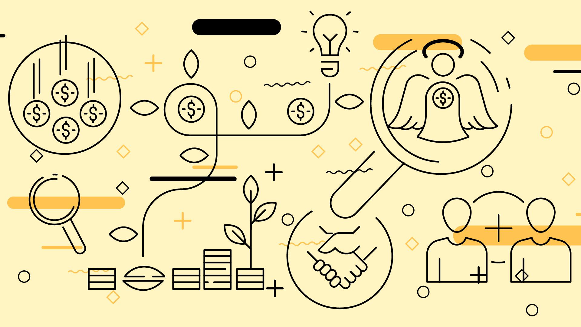 Capitalização  de startups