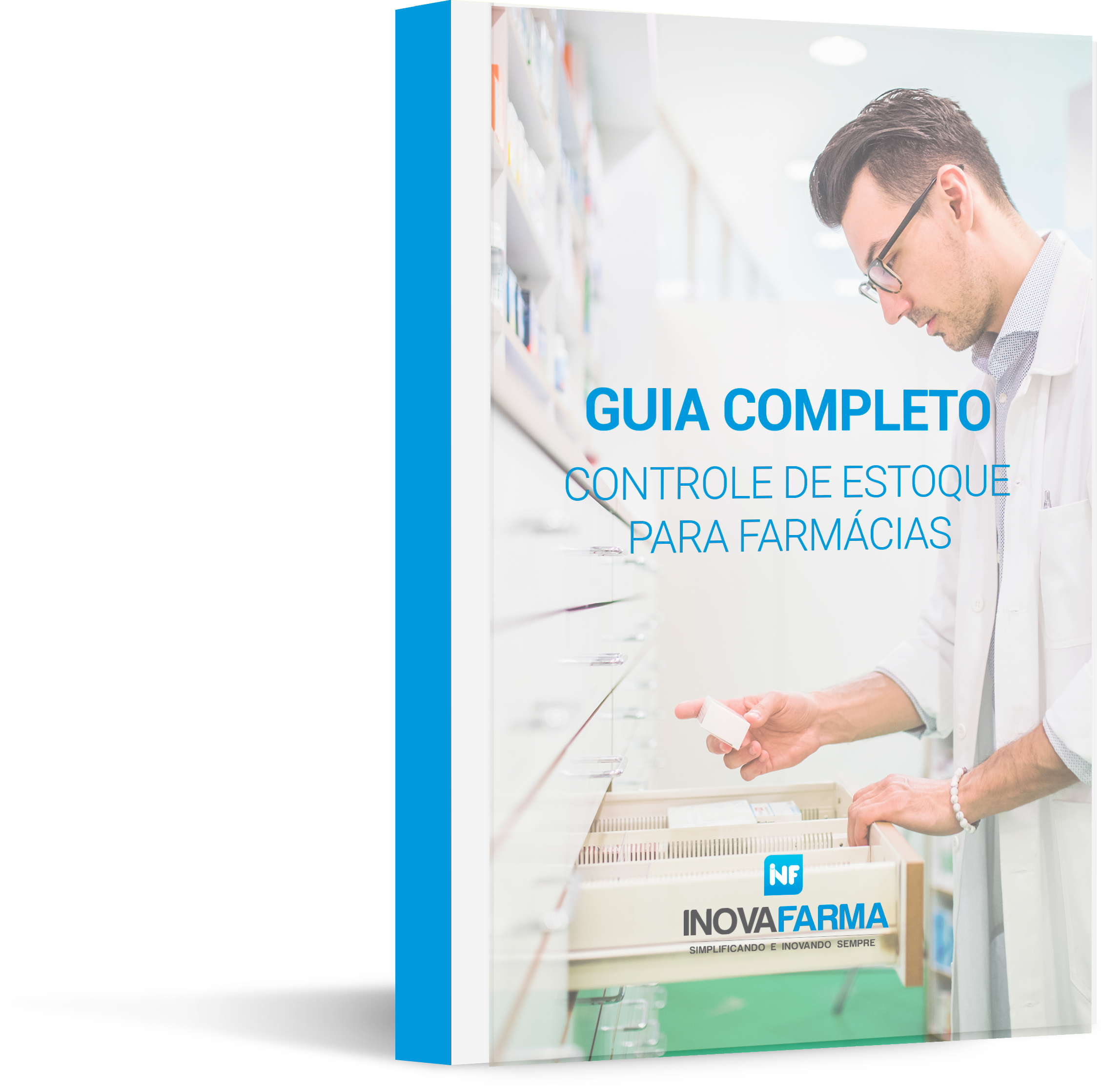 Imagem Ebook Guia Completo: Controle de Estoque para Farmácias