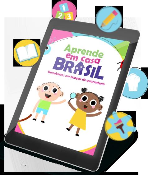 E-book Aprende em casa Brasil