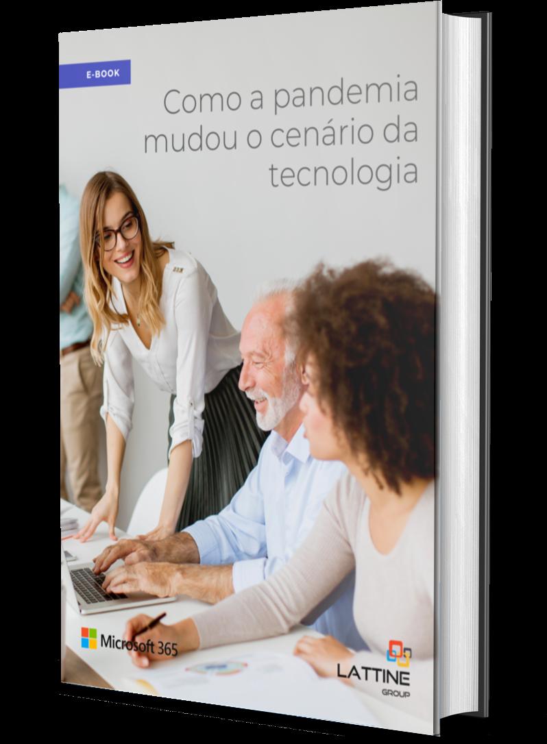 E-book Como a pandemia mudou o cenário da tecnologia