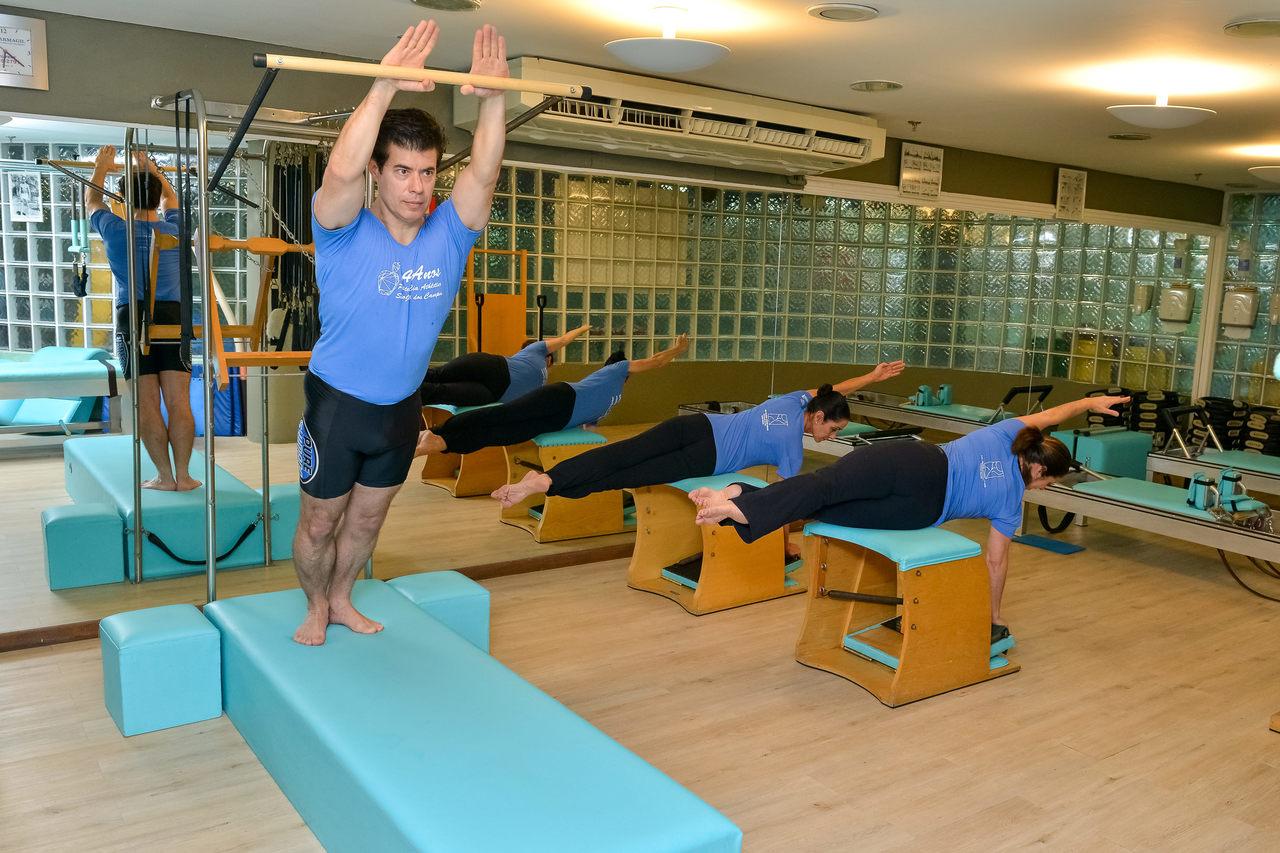 Sala de Pilates Cia Athletica - SJC
