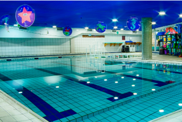 Sala de Hidroginástica Cia Athletica - SJC