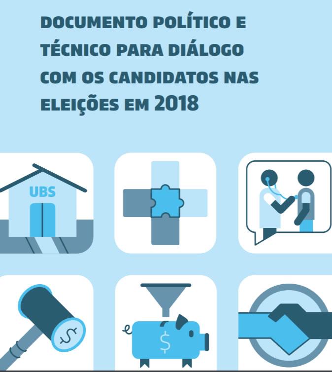 Diálogo com os candidatos nas eleições em 2018