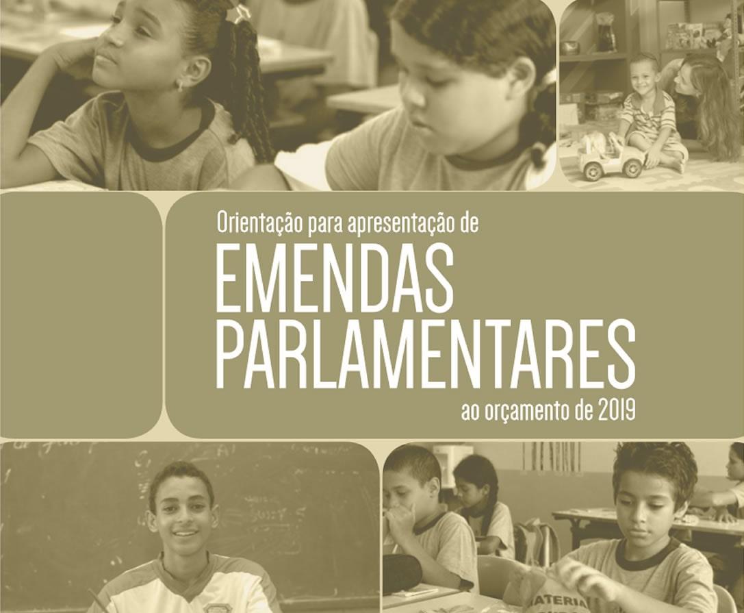 Manual do Ministério da Educação de emendas parlamentares para 2019