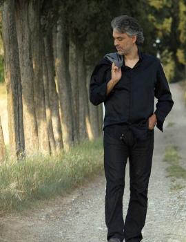 Andrea Bocelli na Toscana