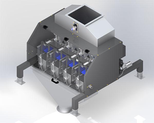 Dosador Industrial de Esteira DSE 4000