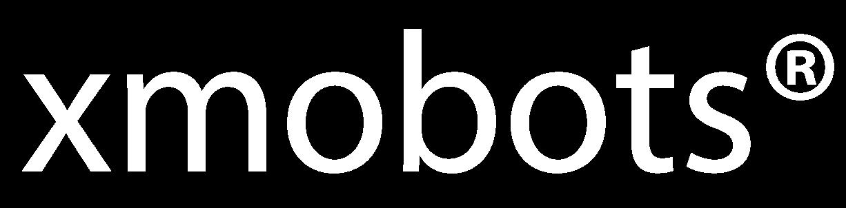 Logo branco XMobots