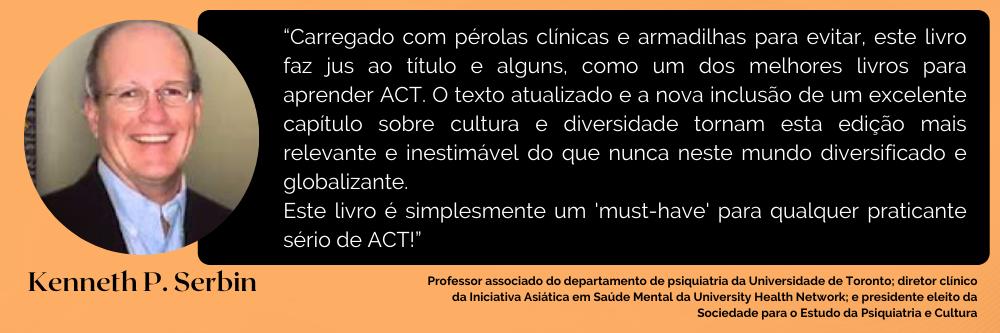 Terapia de aceitação e compromisso - Manual de ACT