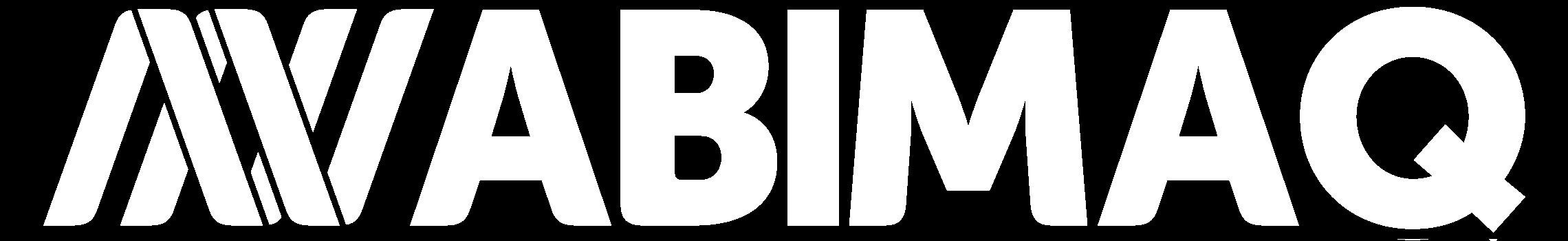 Logo da ABIMAQ branco