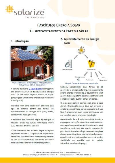 Fascículos Energia Solar