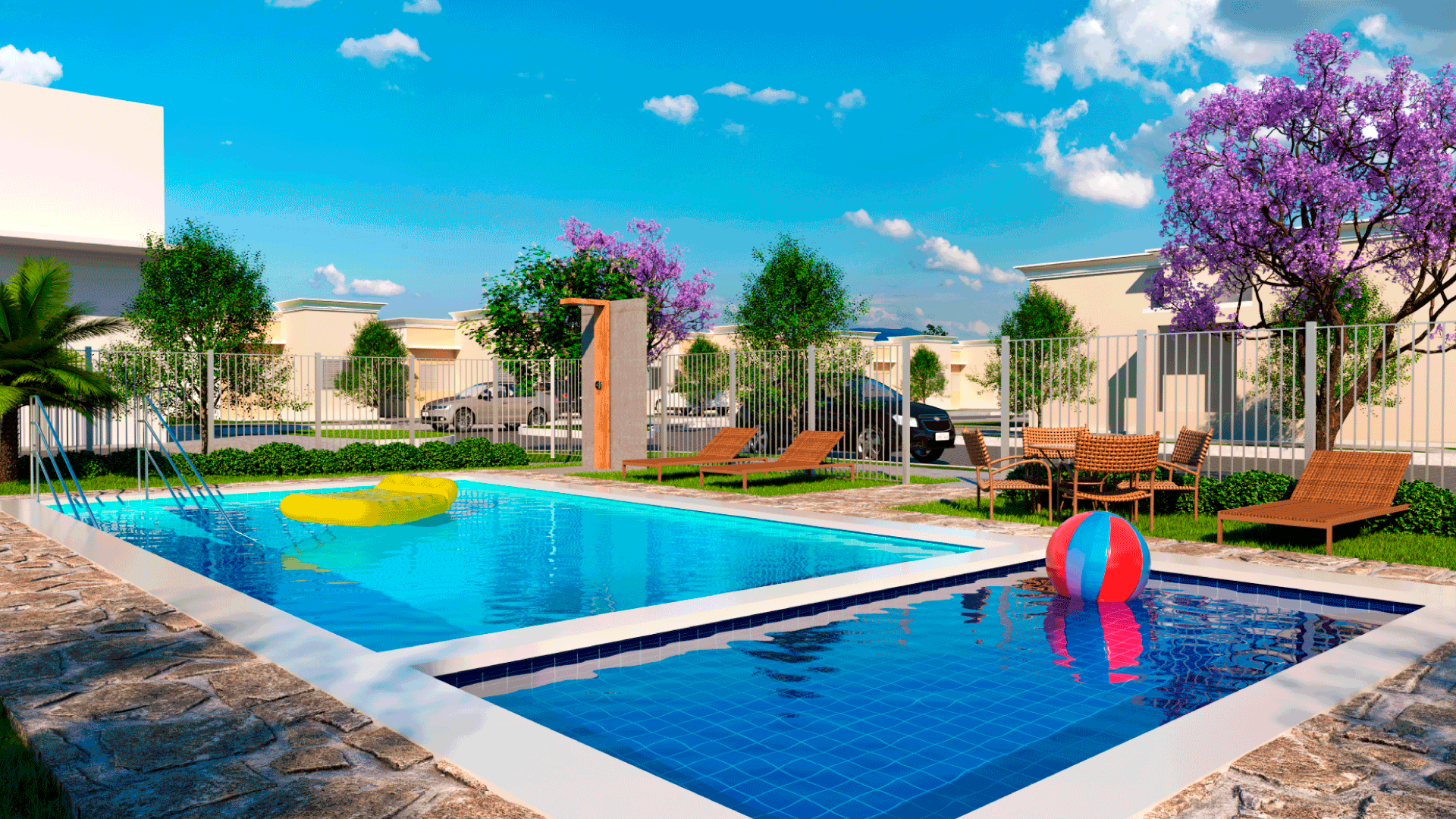 piscina adulto e infantil
