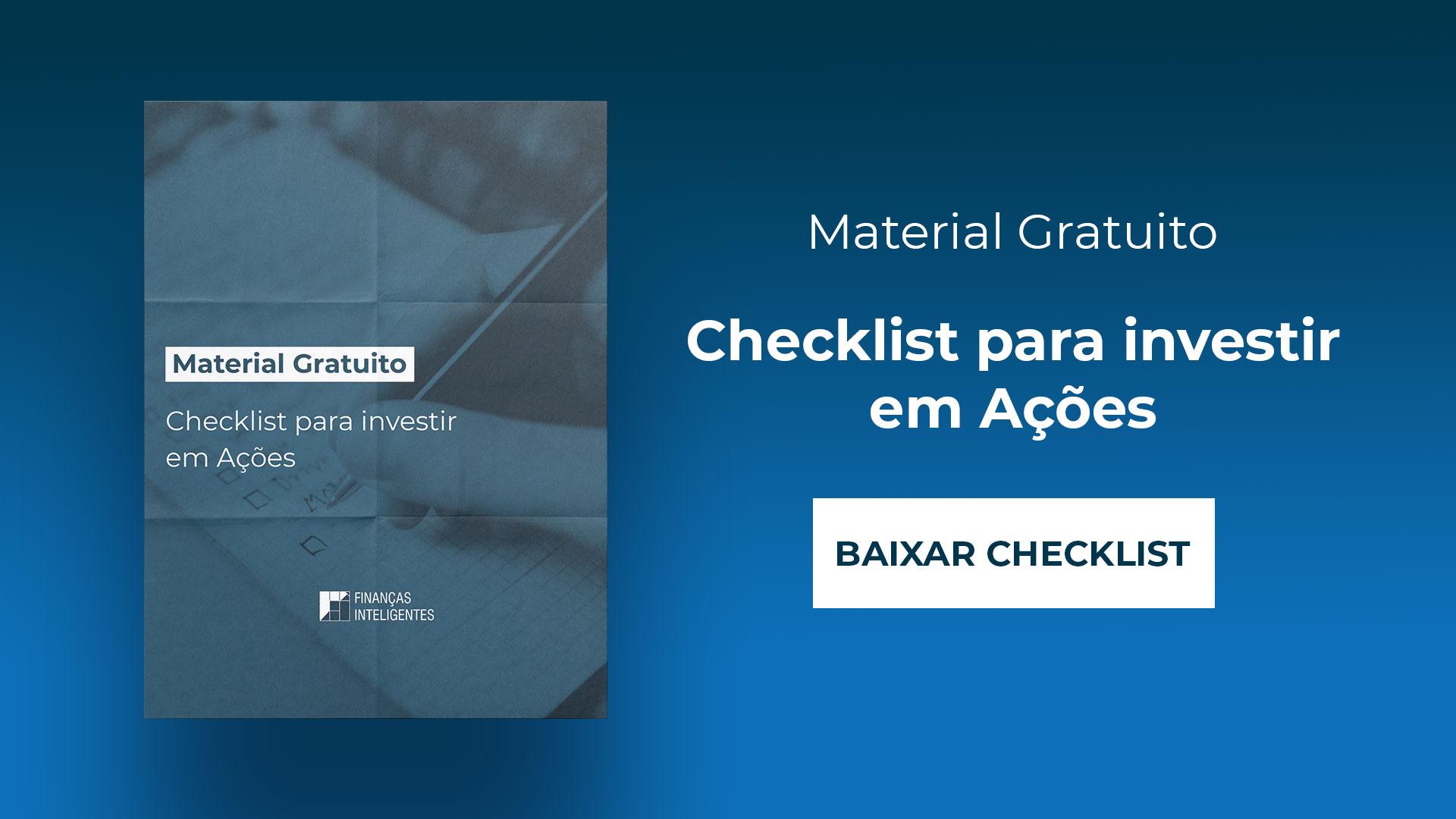 Checklist Ações