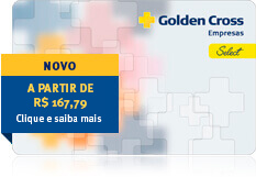 NOVO! Golden Select a partir de R$162,99