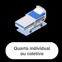 quarto individual ou coletivo
