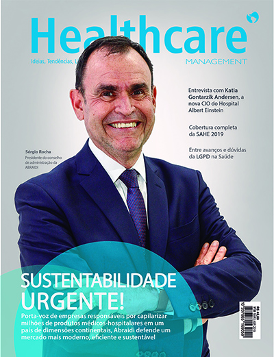 Capa 59 Sergio Rocha - Revista Healthcare Management