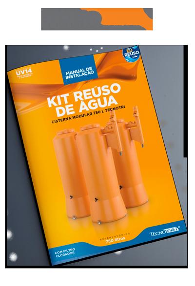 Manual Kit Reuso de Água Cisterna 750L