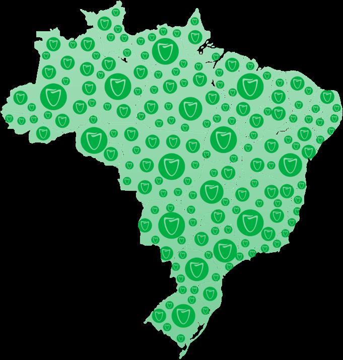 mapa ODC no brasil