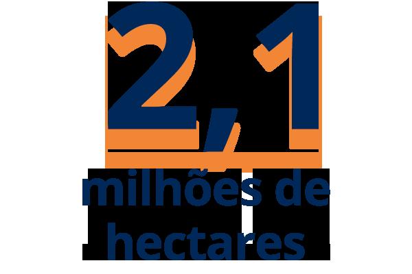 2,1 milhões de hectares cadastrados no CHBSUCRO