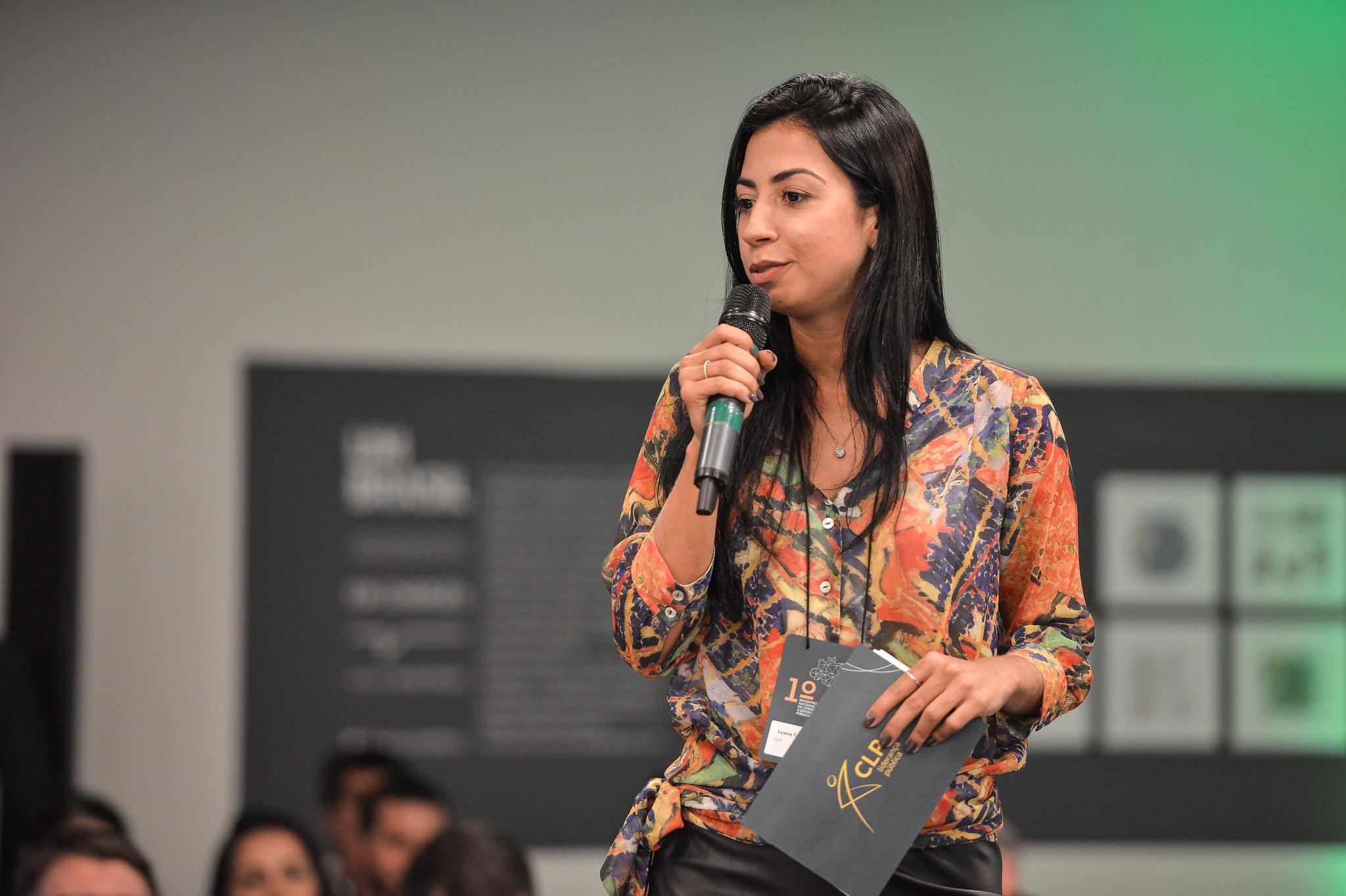 Luana Tavares, diretora executiva do CLP