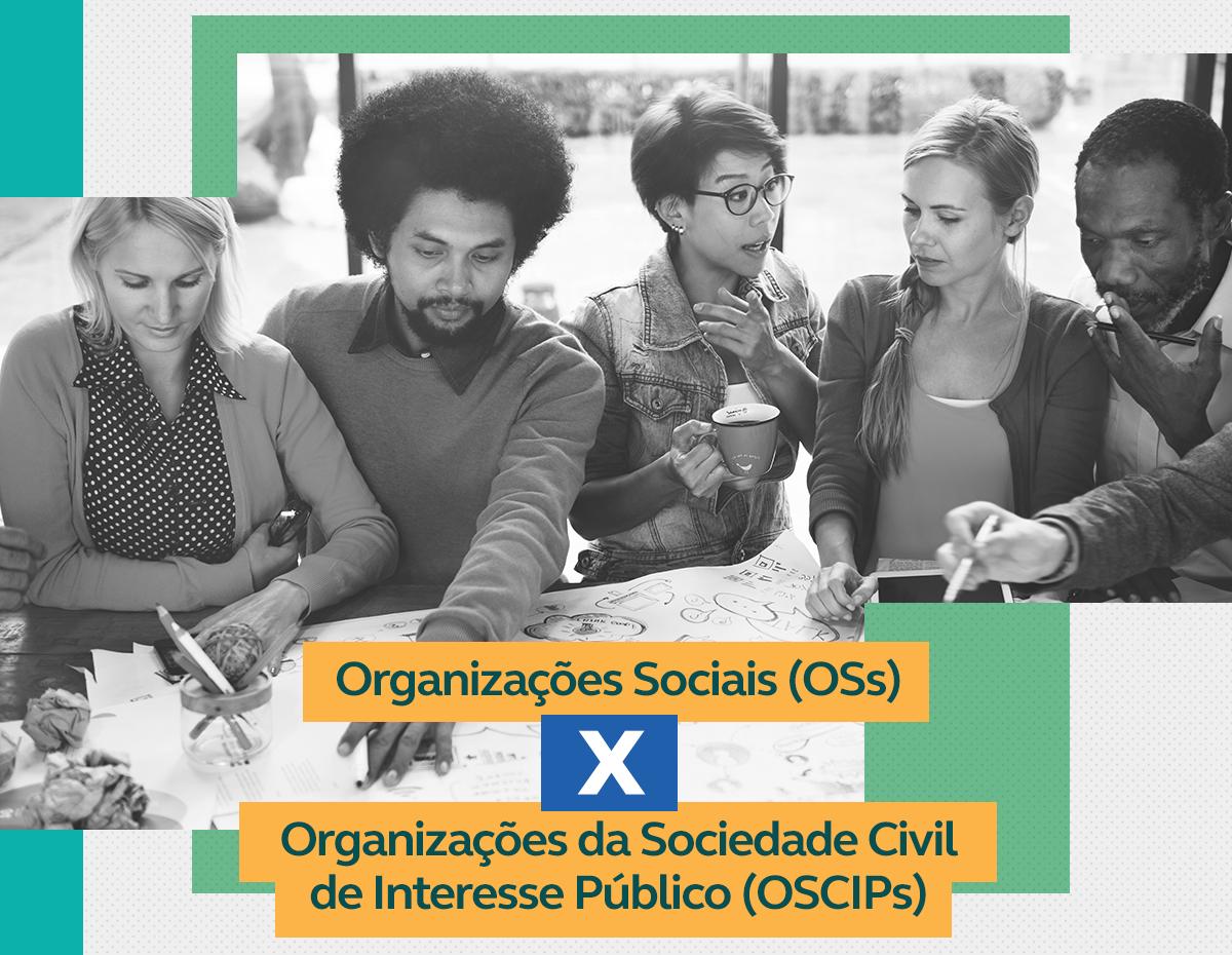 As diferenças entre Organizações Sociais e da Sociedade Civil