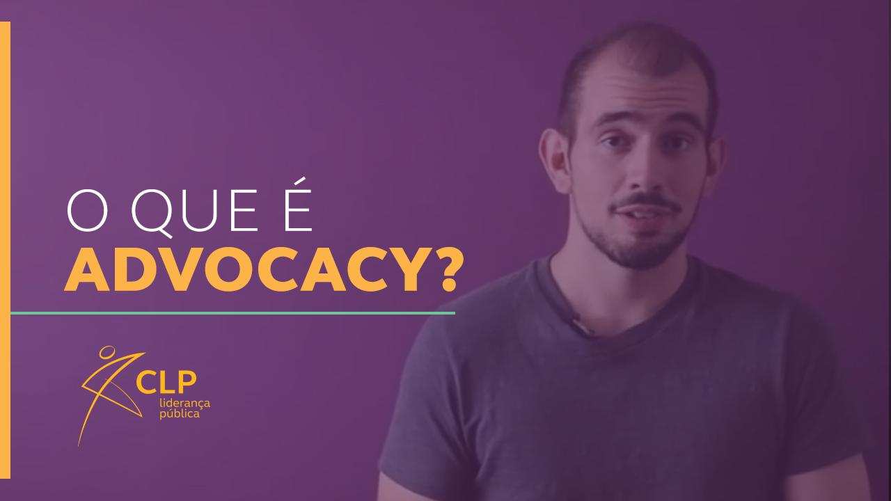 O que é advocacy?