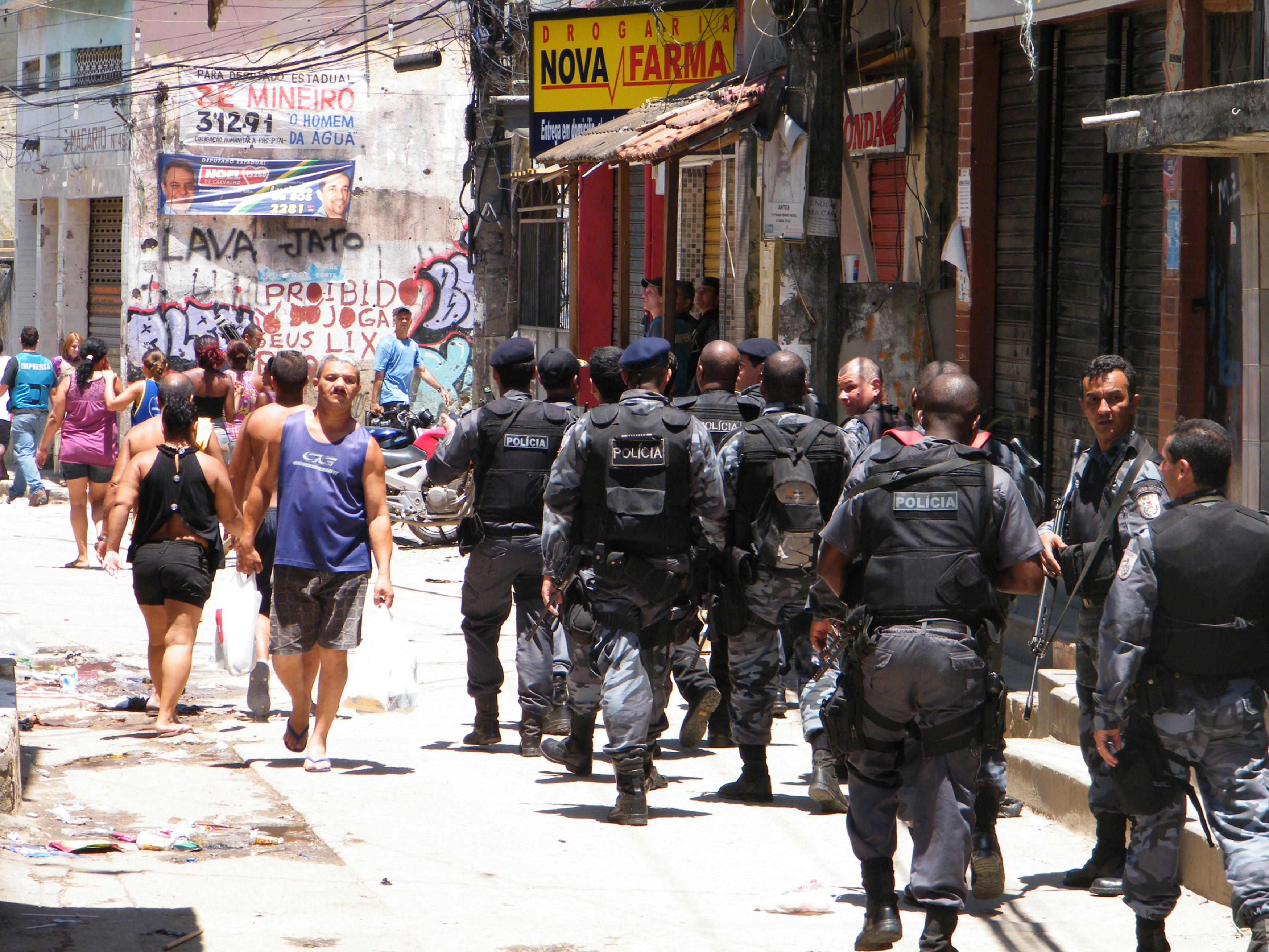 A segurança pública no Brasil