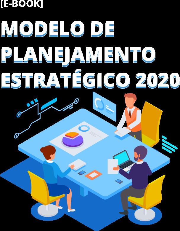 Equipe realizando o planejamento estratégico 2020