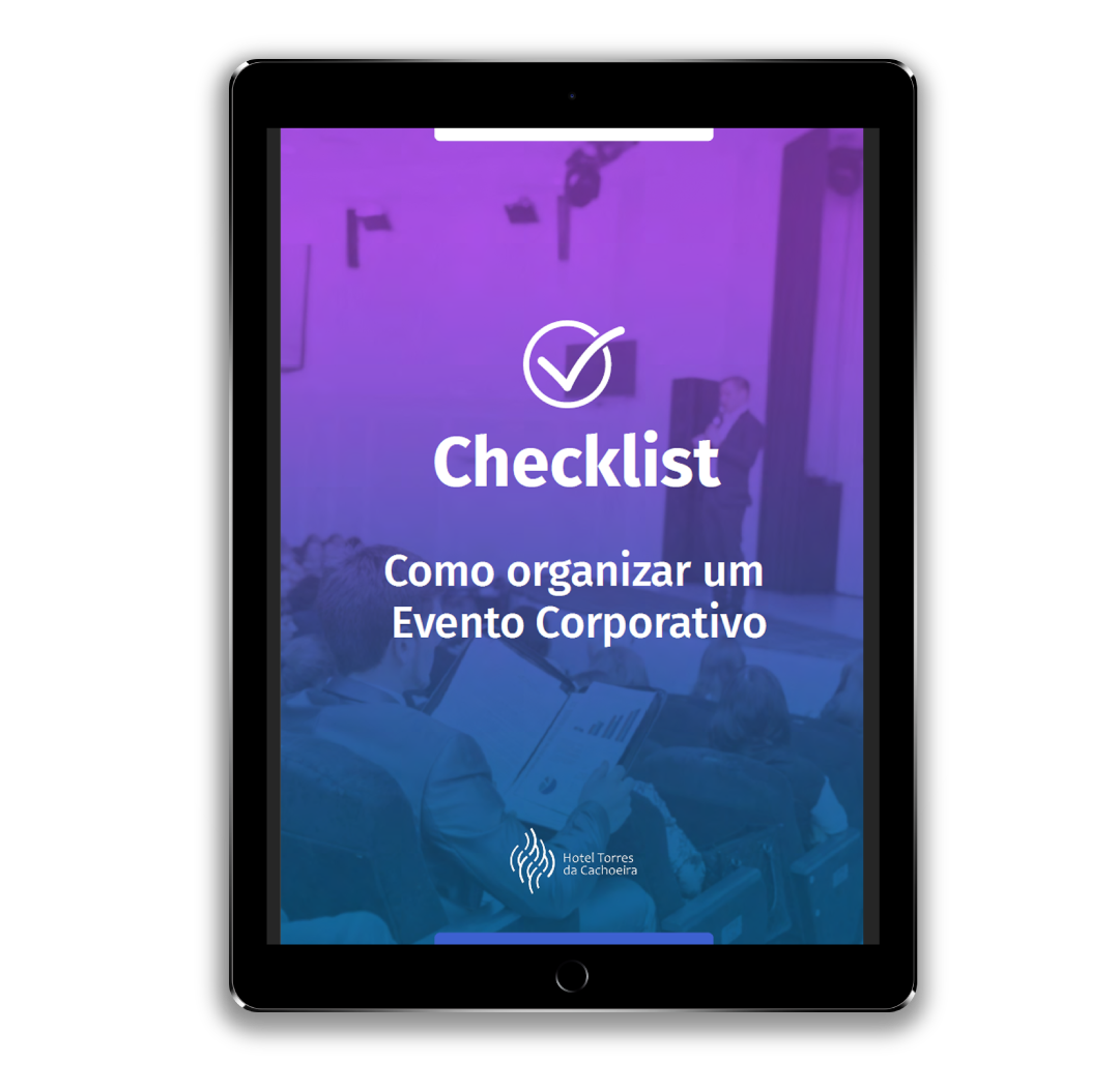 checklist evento corporativo