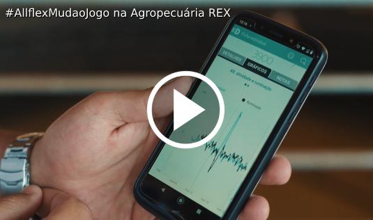 Clique e assista ao vídeo: Agropecuária Rex Muda o Jogo com Allflex