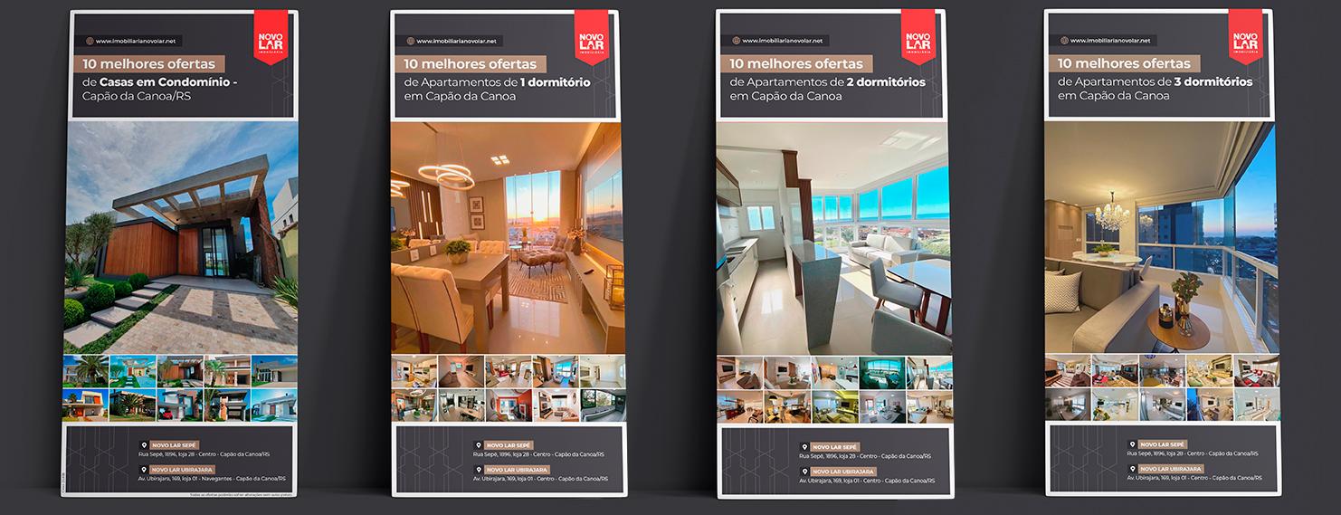 Catálogos Virtuais - Imobiliária Novo Lar (Capão da Canoa)