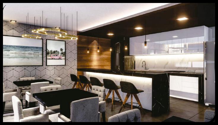 Salão de Festas Livin' House Resort