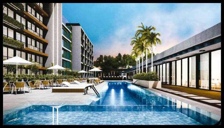 Piscina Livin' House Resort