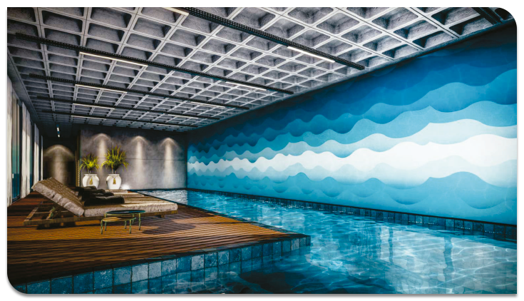 Piscina Térmica Livin' House Resort