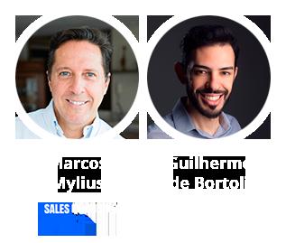 Marcos Mylius e Guilherme de Bortoli