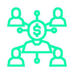 Ícone - Marketing nas Redes Sociais