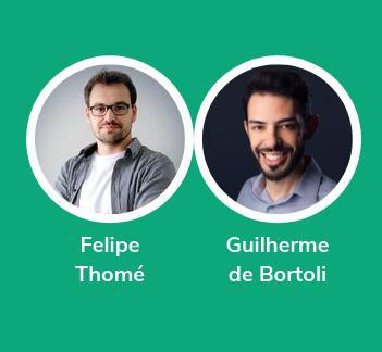 Felipe Thomé e Guilherme de Bortoli