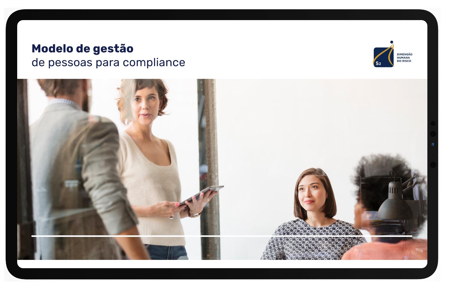 Modelo de gestão de pessoas para compliance