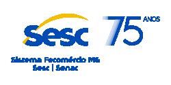 Logo Sesc 75 Anos