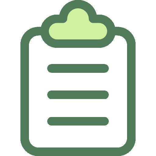 ícone prancheta