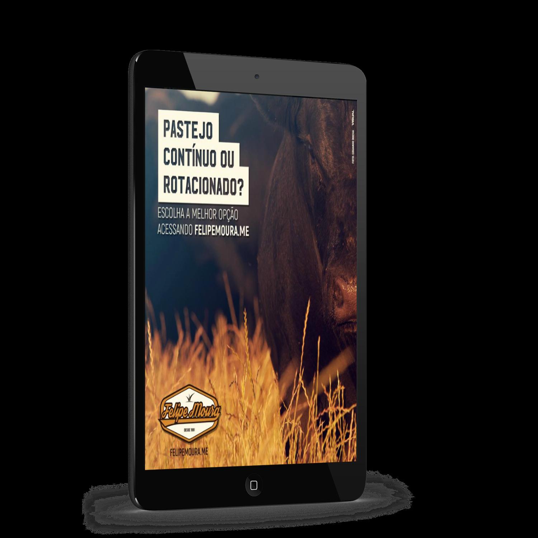 e-book Pastejo Contínuo ou Rotacionado