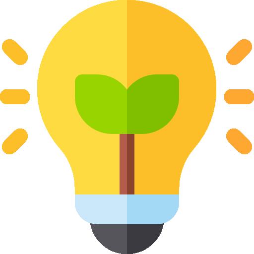 ícone lâmpada