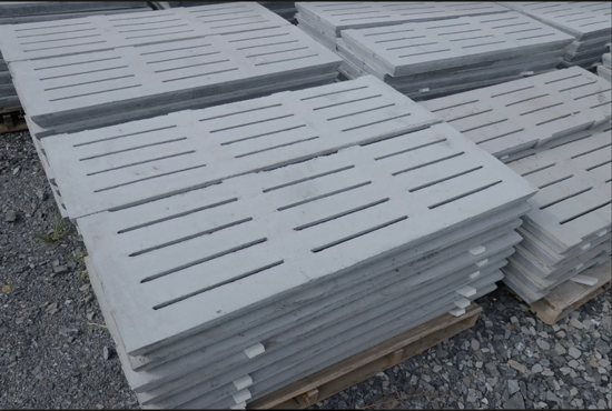 Grelha de concreto